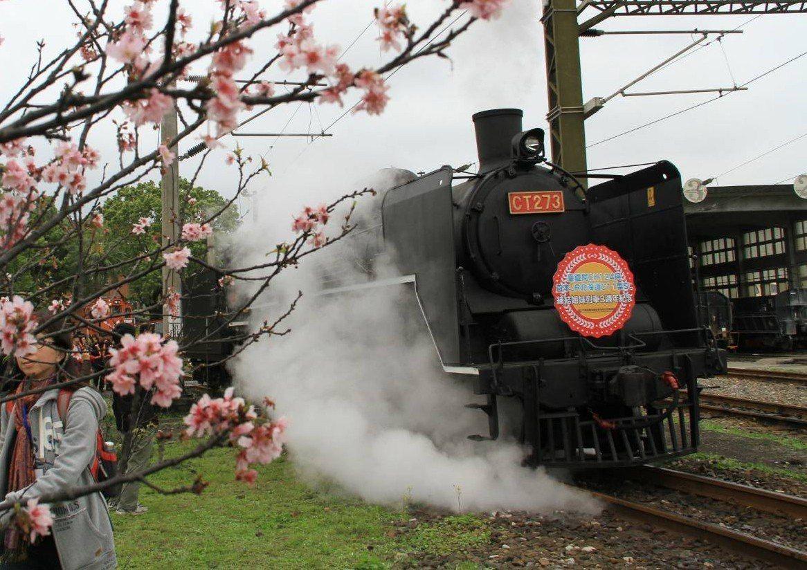 宜蘭線南段的蘇澳與礁溪間通車至今年滿100週年,臺鐵規劃讓蒸汽火車再次行駛這段鐵...