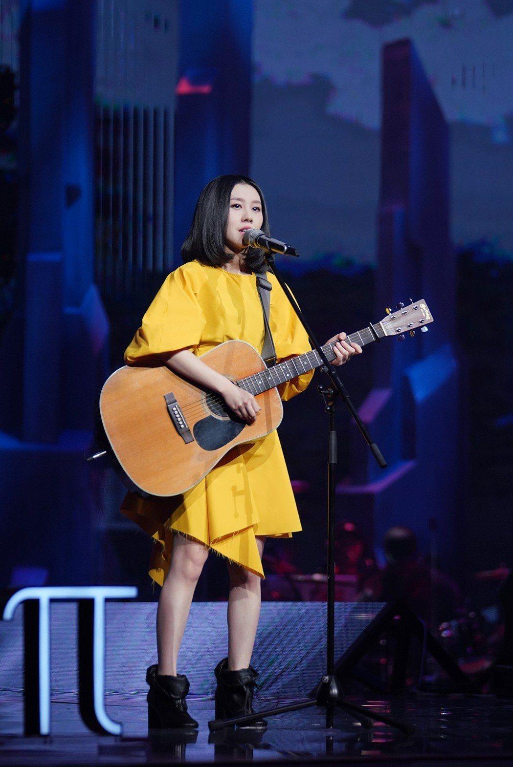 白安參與的「我是唱作人」正式播出。圖/相信提供