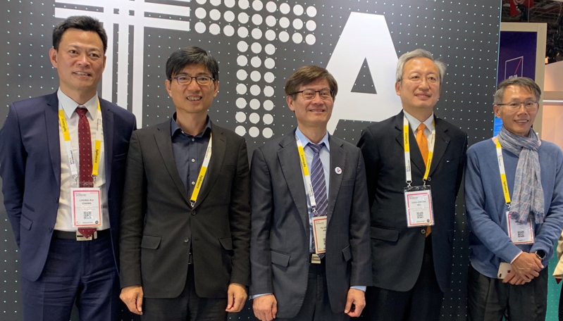 科技部政務次長許有進本月15日帶領台灣10家科技新創前進法國新創展Viva Te...