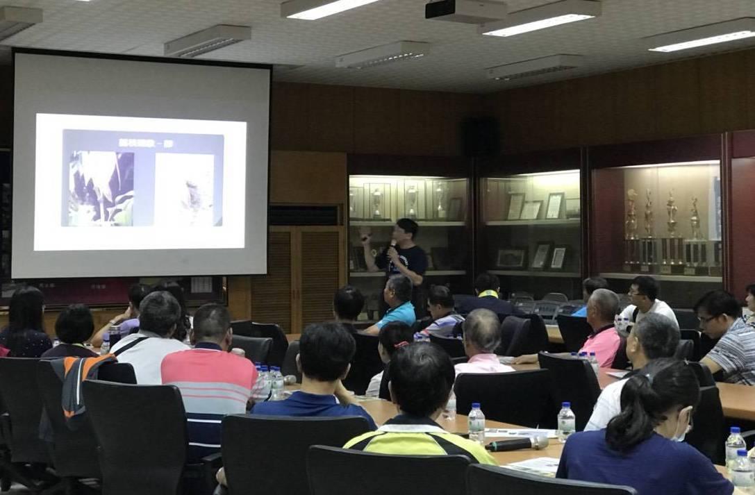 彰化市公所舉辦荔枝椿象防治講習,邀請里長和學校人員參加。照片/市公所提供
