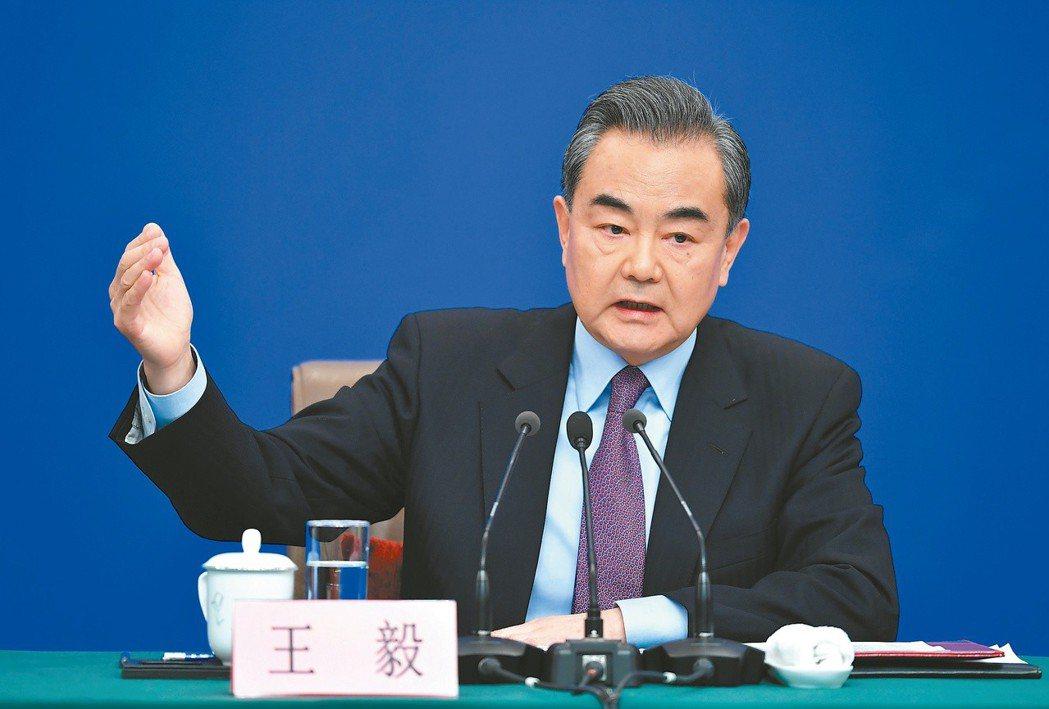 中共國務委員兼外交部長王毅。(中新社)