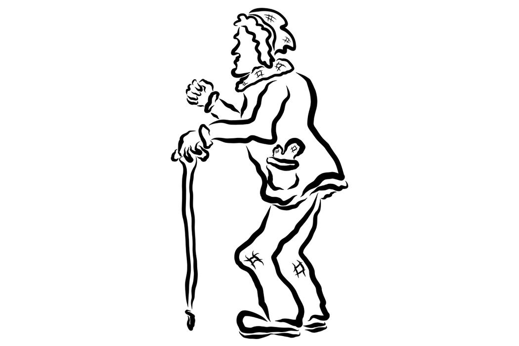 高齡長者走路時步伐不穩,就應使用手杖輔助,以便在外行動時有所支撐,也能降低跌倒的...