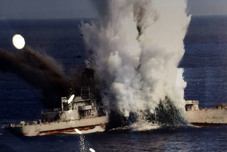 海軍256潛艦戰隊多年來總計實施過5次線導魚雷實彈射擊。圖/256戰隊隊史館提供
