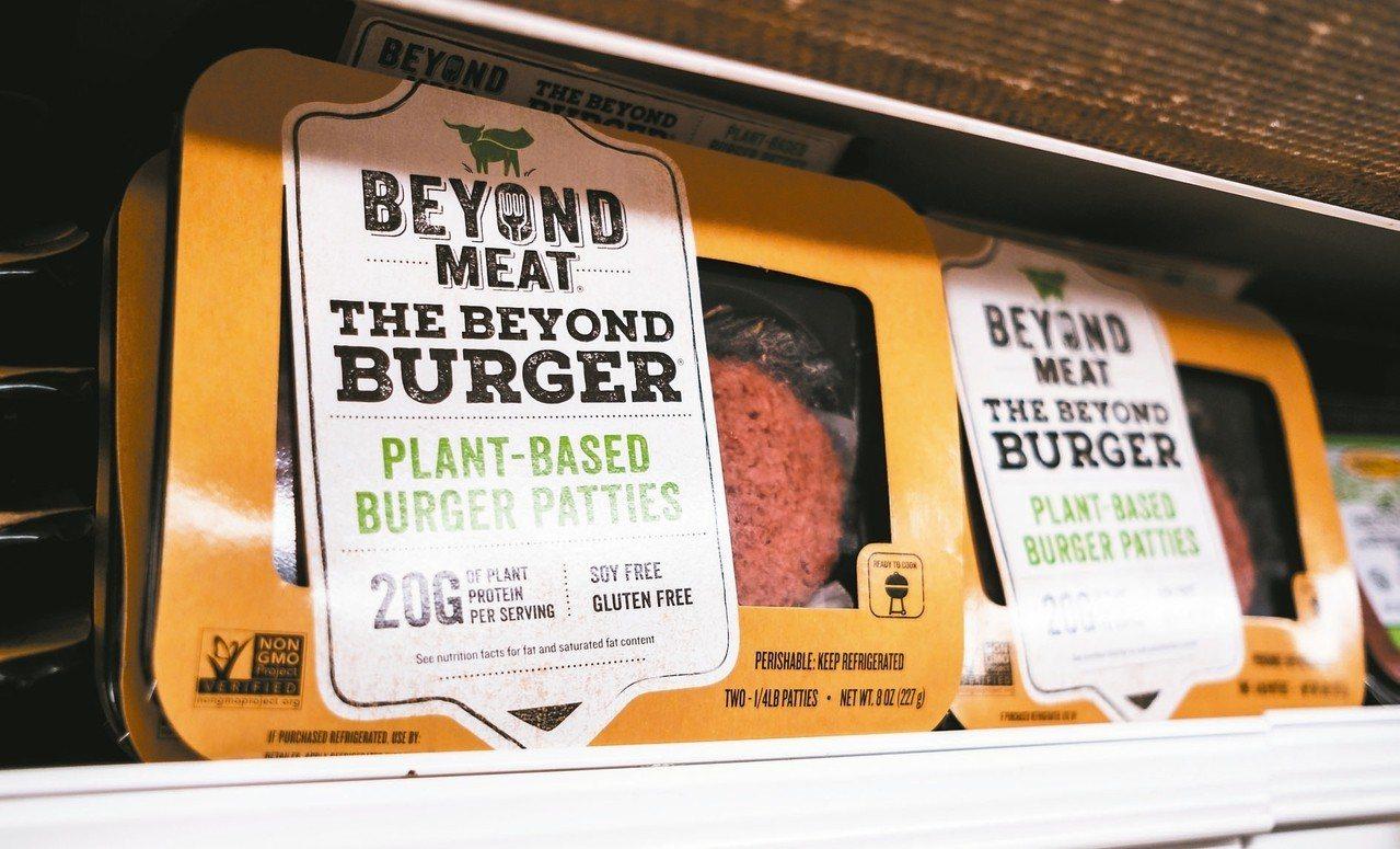 人造肉製造商Impossible Foods與Beyond Meat競爭日益激烈...
