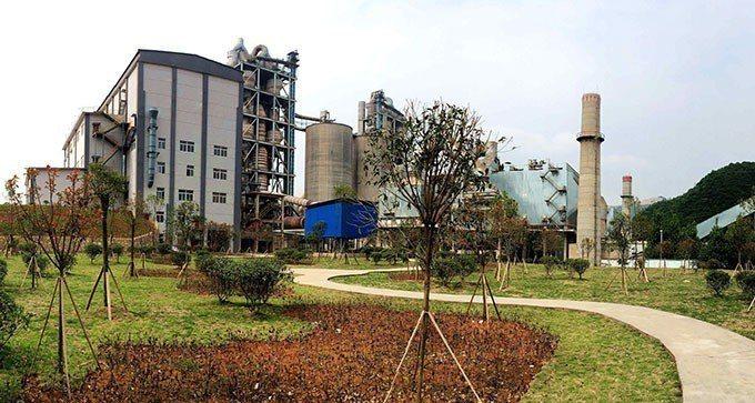 台泥中國大陸安順廠。台泥/提供