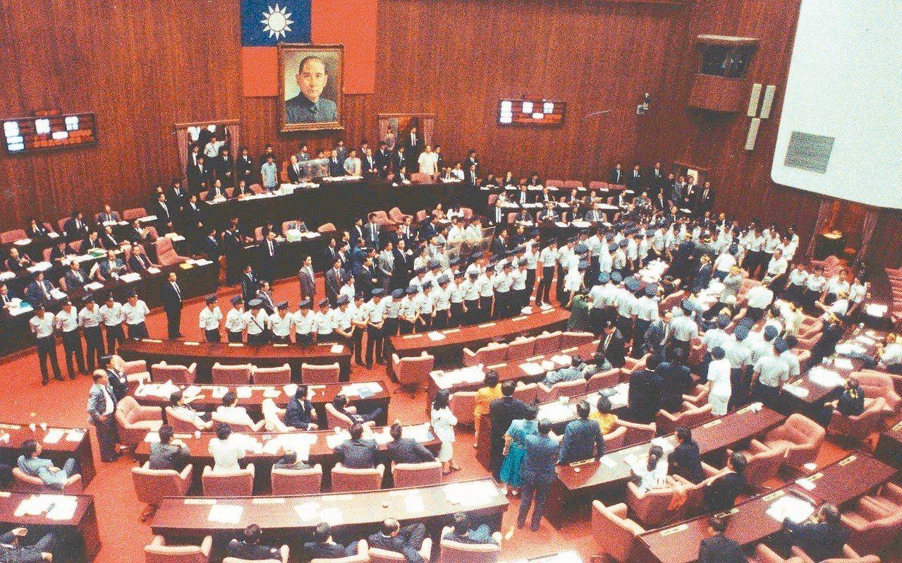 立法院場景。 圖/聯合報系資料照片