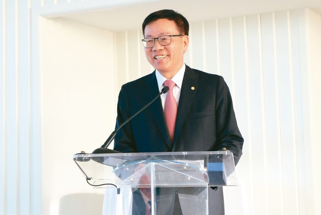 長榮航空董事長林寶水。 圖/聯合報系資料照片