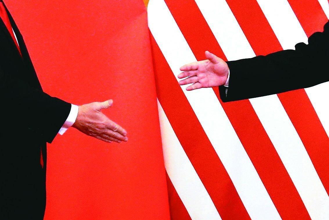 美中貿易戰開打,而美國國內同樣充滿分歧。路透