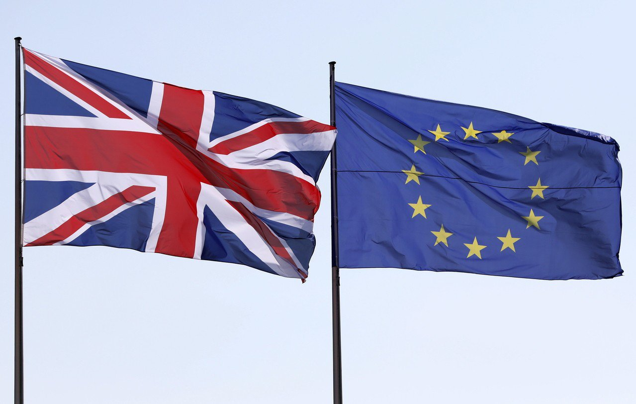 英國疑歐派大將法拉吉(NigelFarage)新成立的脫歐黨(Brexit Pa...