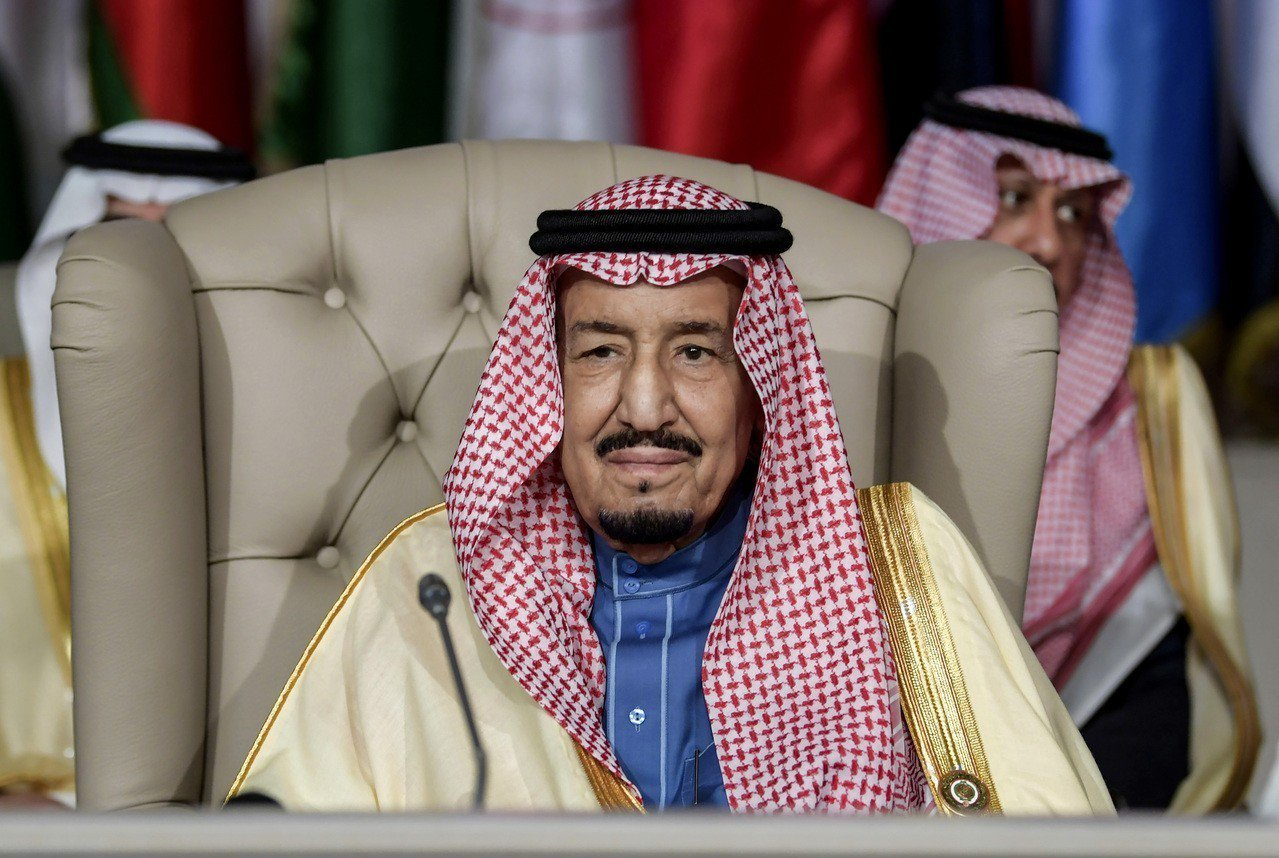 沙國國王沙爾曼(King Salman)邀請波斯灣國家領袖和阿拉伯聯盟(Arab...