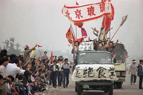 「那個時候,他們還不知道。」1989年5月18日星期四,北京天安門廣場,為了聲援...