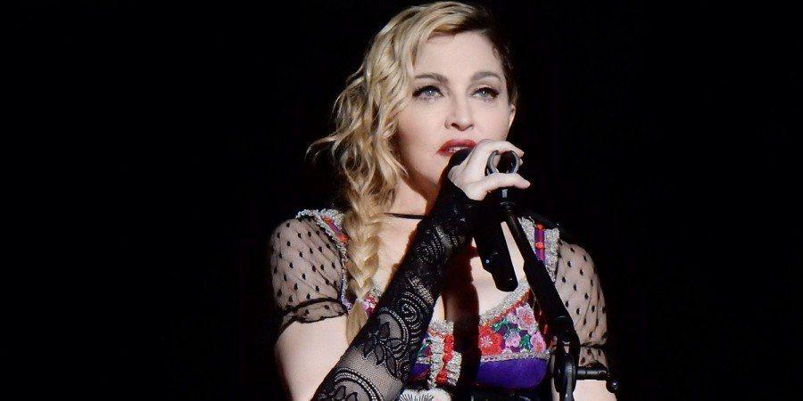 歐洲歌唱大賽落幕,流行天后瑪丹娜表演引發種族爭議。(photo on歐洲歌唱大賽...