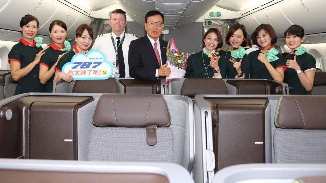 長榮航空董事長林寶水可以說是最了解長榮航空的董事長。 報系資料照