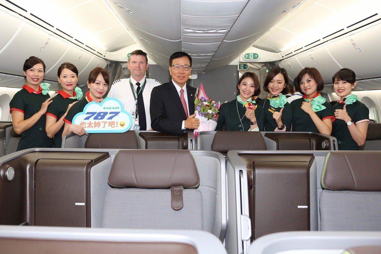 長榮航空董事長林寶水可以說是最了解長榮航空的董事長。報系資料照