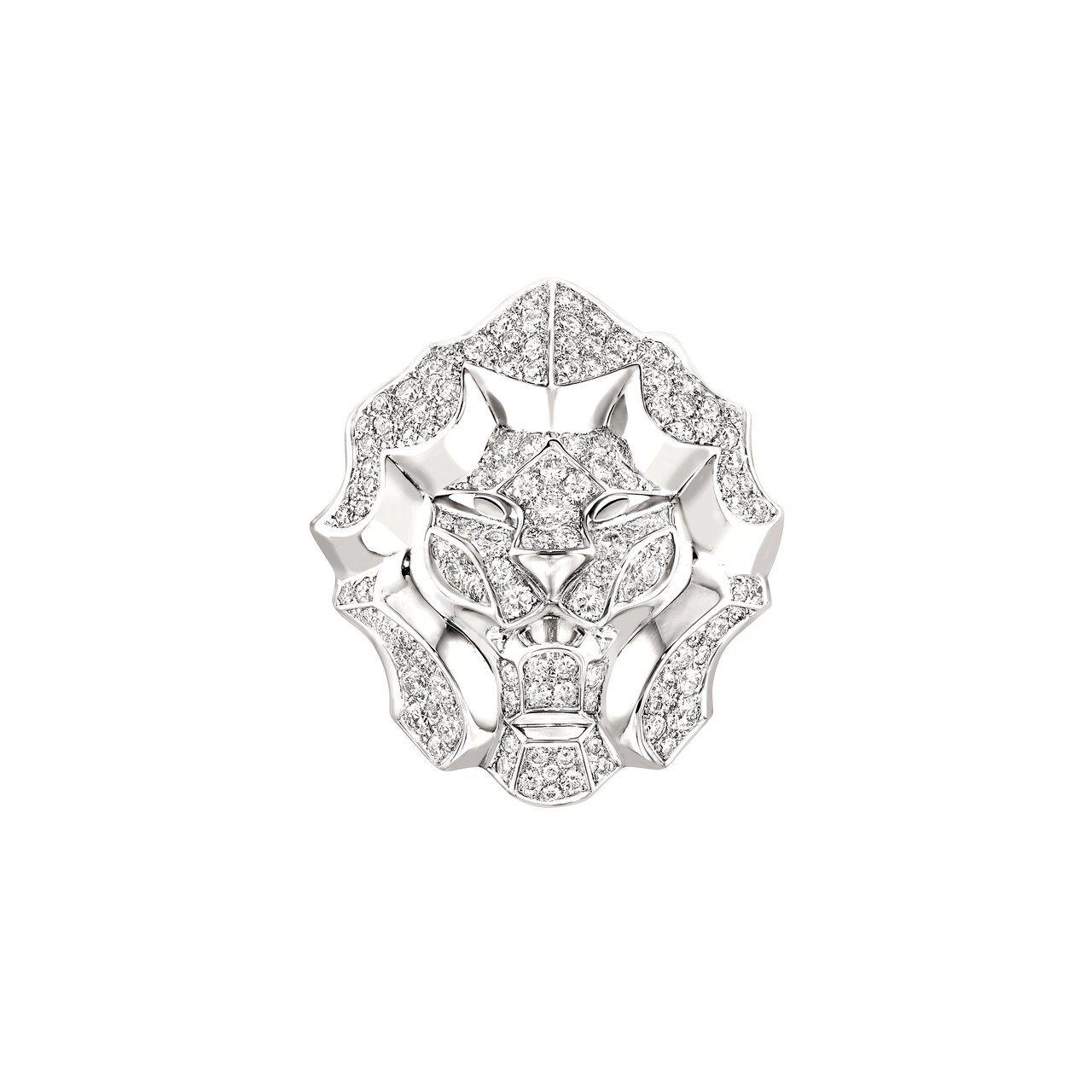 桂綸鎂配戴Lion Pepite戒指。圖/香奈兒提供