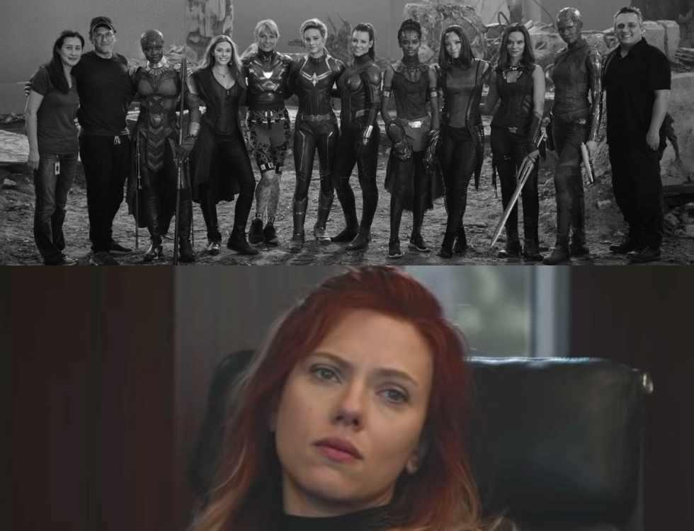 漫威釋出「復仇者聯盟:終局之戰」女英雄集結幕後照,獨缺「黑寡婦」史嘉莉喬韓森,讓...