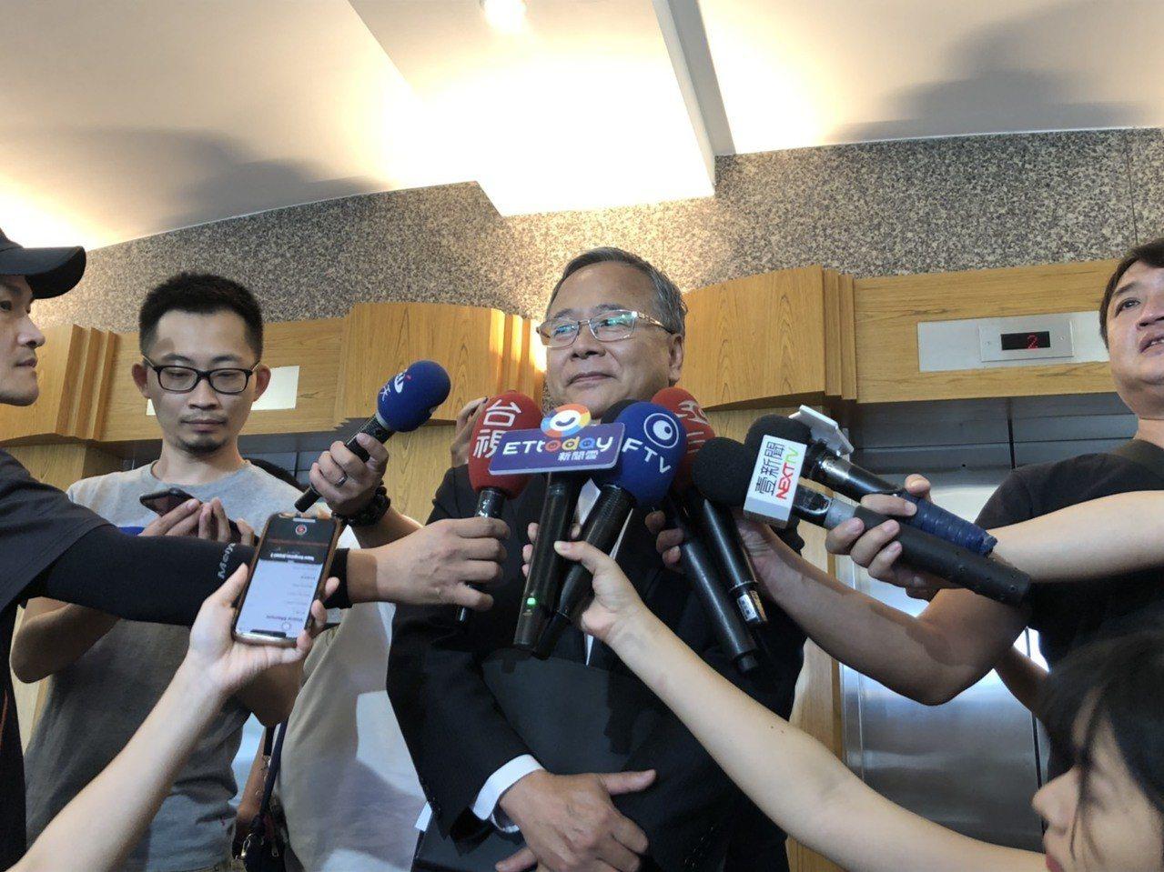 遠航總經理李梓煌傍晚也在事件發生後首度出面說明。記者侯俐安/攝影