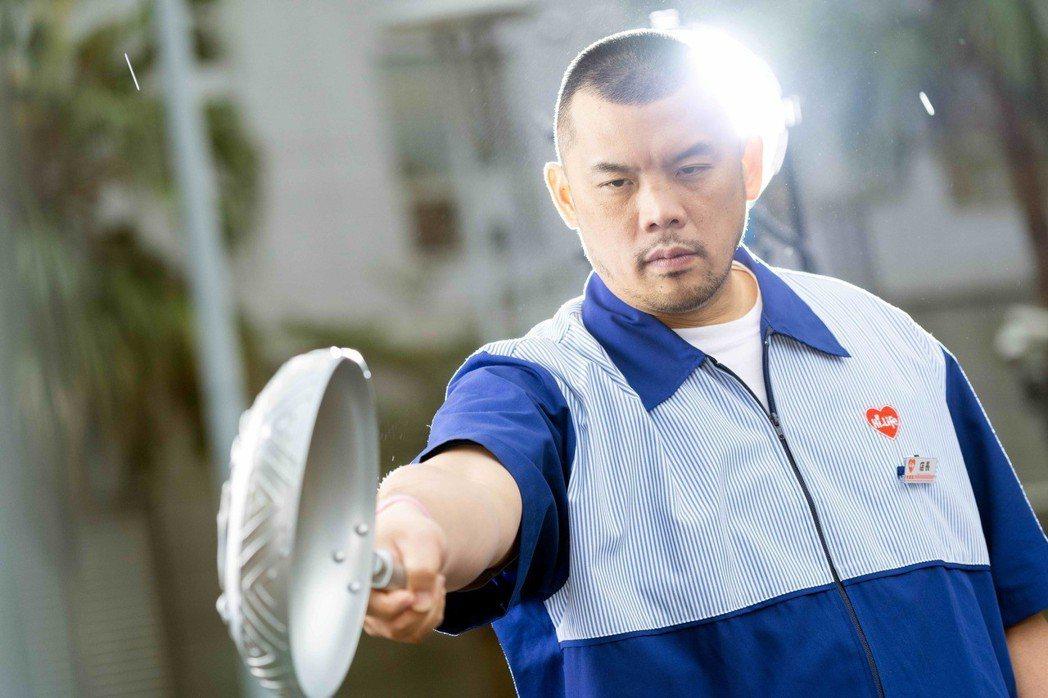 張皓明飾演「金寶三」。圖/八大提供