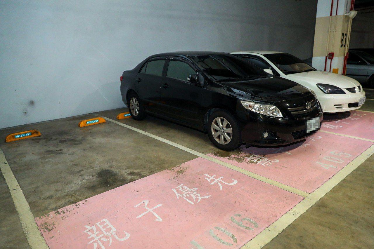 6月29日起占用親子車格,將開罰。圖/台中市新聞局提供