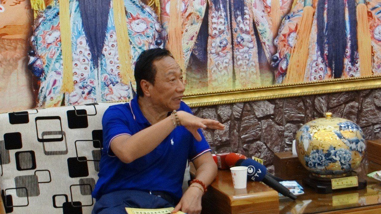 蔡英文問郭台銘年輕員工為何想不開 郭回嗆:總統失格