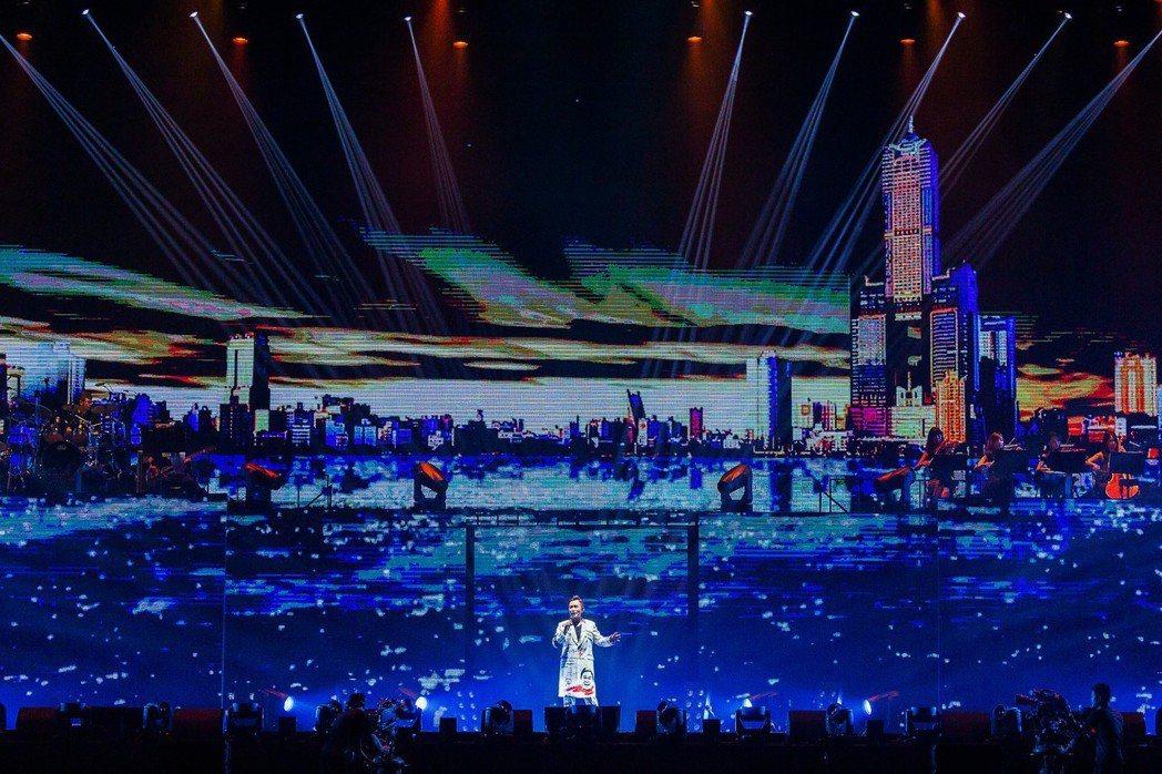 吳宗憲返鄉在高雄巨蛋連辦2場演唱會。圖/華貴娛樂提供