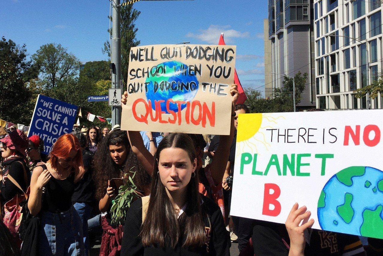 民調原顯示氣候議題主宰澳洲大選,但最終不敵民生經濟。路透