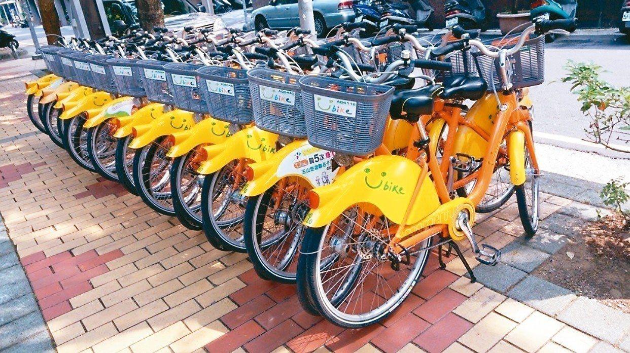 為了讓YouBike微笑單車更進步,北市交通局擬推出「微笑單車2.0計畫」。 圖...