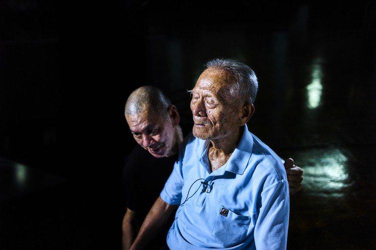 蔡明亮在新片《你的臉》中以長鏡頭特寫,拍了13張中老年人的臉龐。 圖/汯呄霖提供