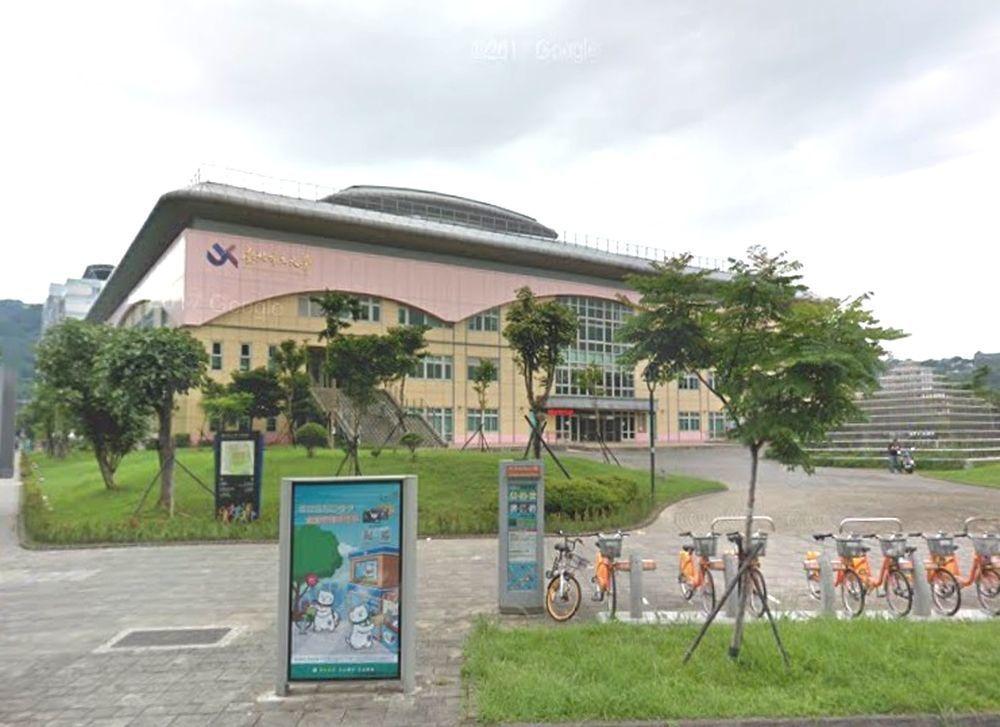 台北市立大學體育館。圖/翻攝自Google Map