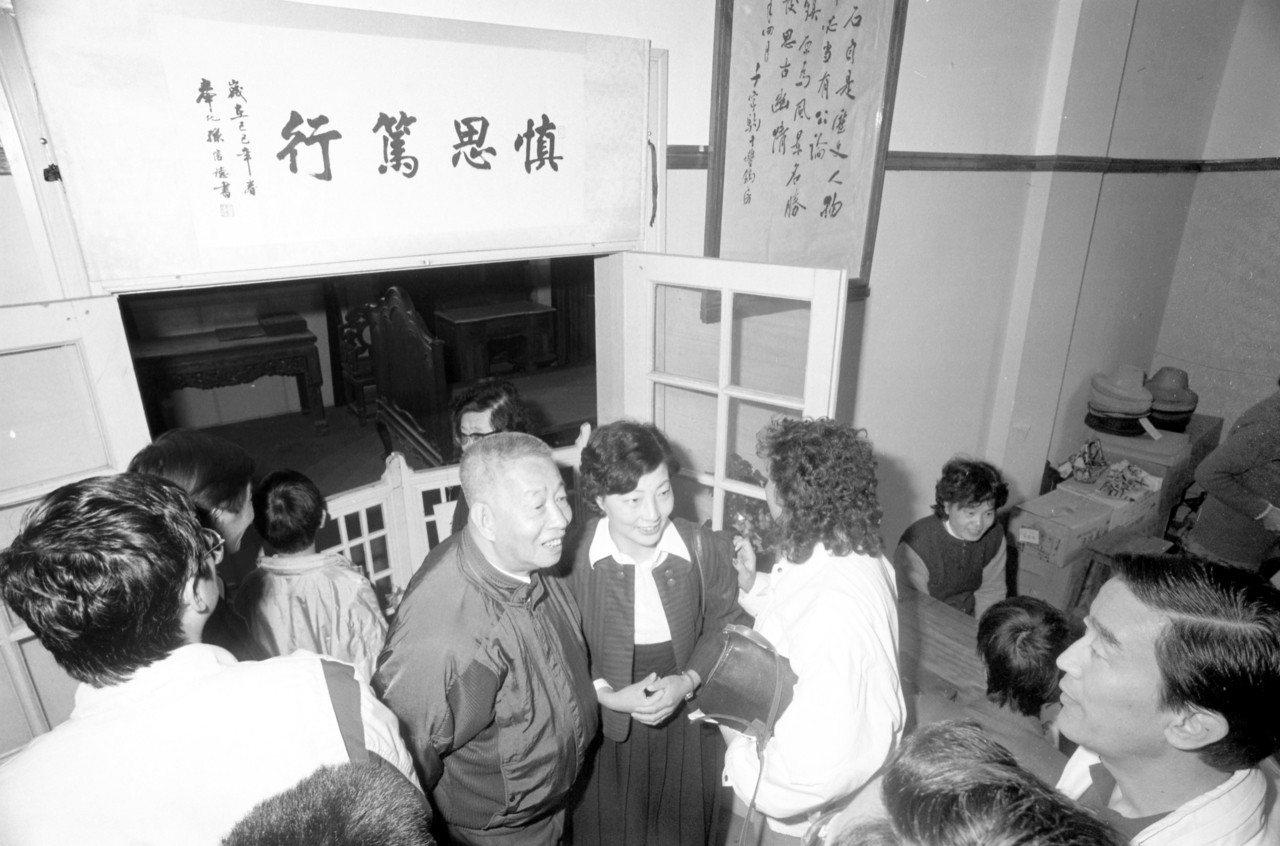 蔣中正的誕生地浙江奉化縣溪口鎮景致。圖/聯合報系資料照片