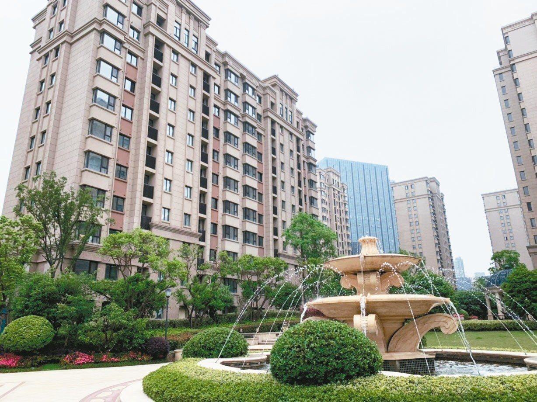 華新麗華在南京的「華新城」造鎮案。 記者黃阡阡╱攝影