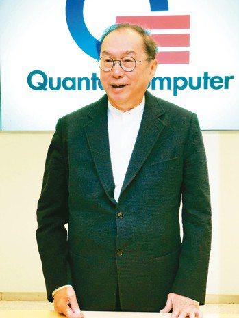 廣達董事長林百里。 記者蕭君暉/攝影