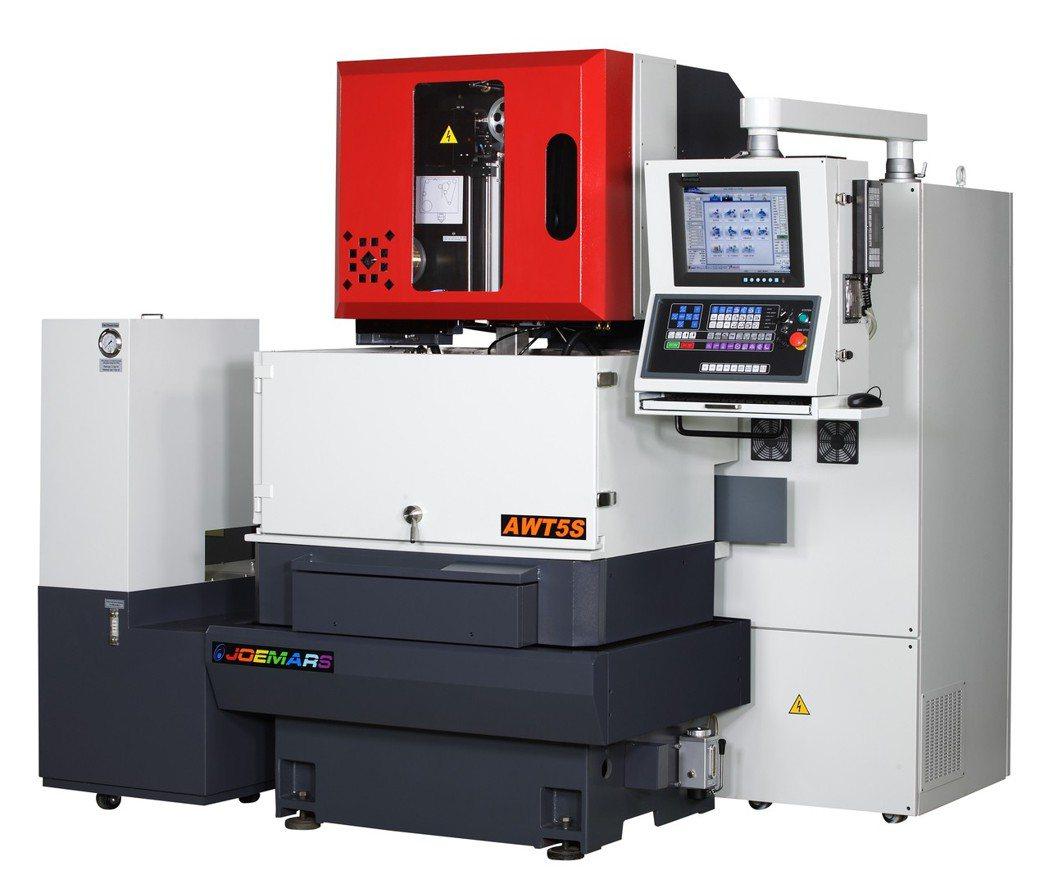 喬懋機電針對3C、醫療器材等具高精度加工需求,推出國內第一台微細線(0.05mm...
