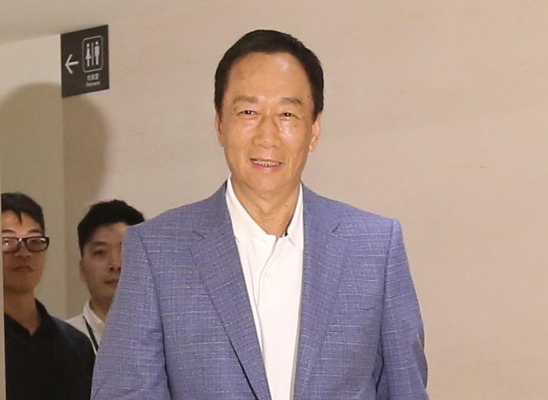 最新民調顯示郭台銘與高雄市長韓國瑜的距離拉近。 聯合報系資料照/記者許正宏攝影