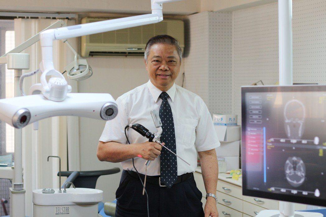 醫百科技董事長黃大可博士。 醫百科技/提供