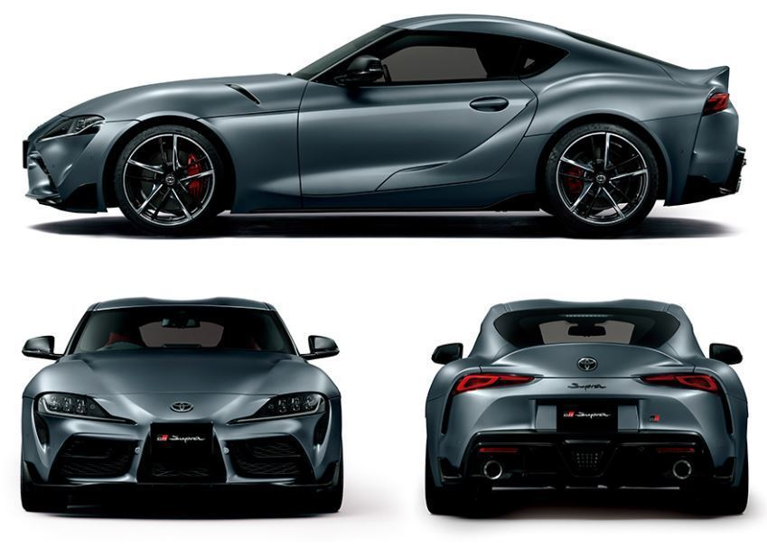 Toyota Supra是交由GAZOO Racing開發。 摘自Toyota