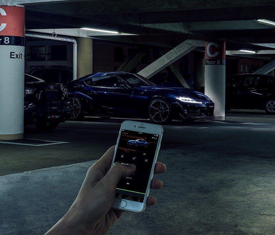 Toyota Supra Connect手機互聯網系統,用手機能夠監控車輛。 摘...
