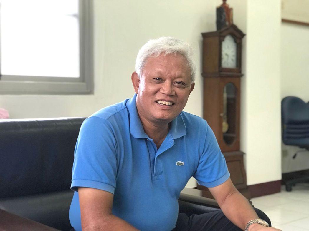 華嶸集團董事長蕭棟斌,對今年營運胸有成竹。 莊玉隆/攝影