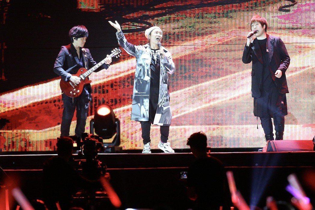 吳宗憲日前當五月天演唱會嘉賓。圖/聯合報系資料照