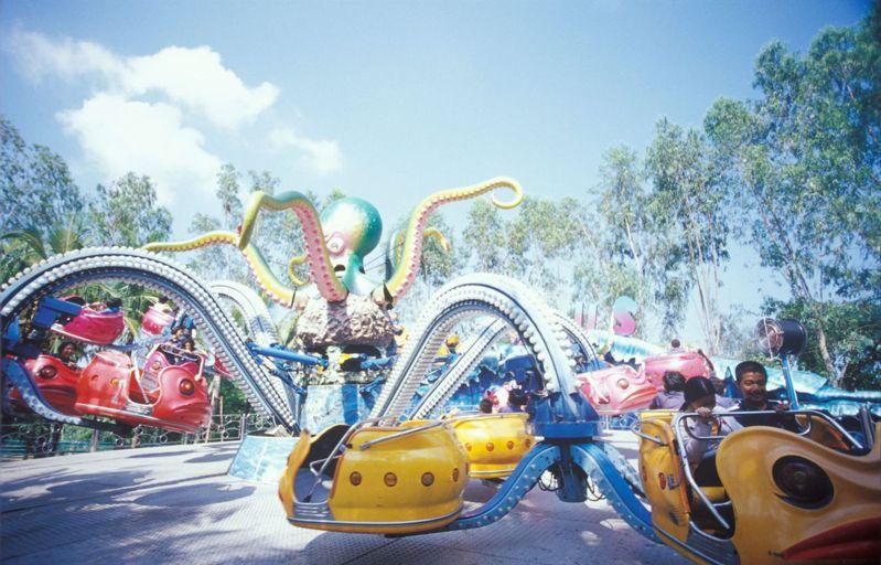 蘭實(Rangsit)夢幻世界主題公園。圖/泰國觀光局提供