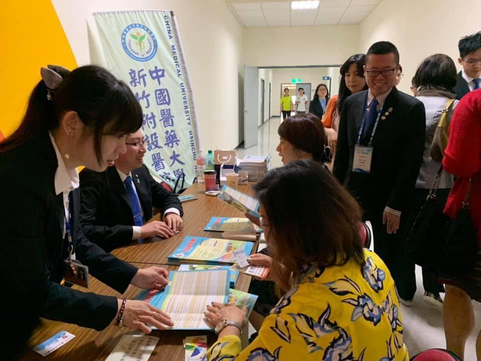 中國醫藥大學新竹附設醫院今年5月25日開始,和新竹縣政府衛生局共同辦理「整合性篩...