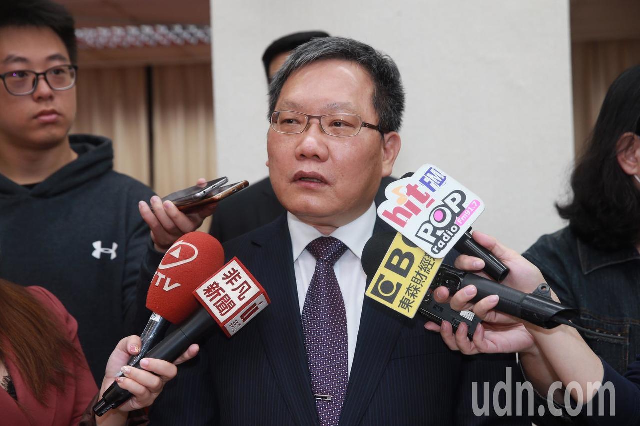 財政部長蘇建榮今(20)日表示,由於它是透過App Store和Google P...