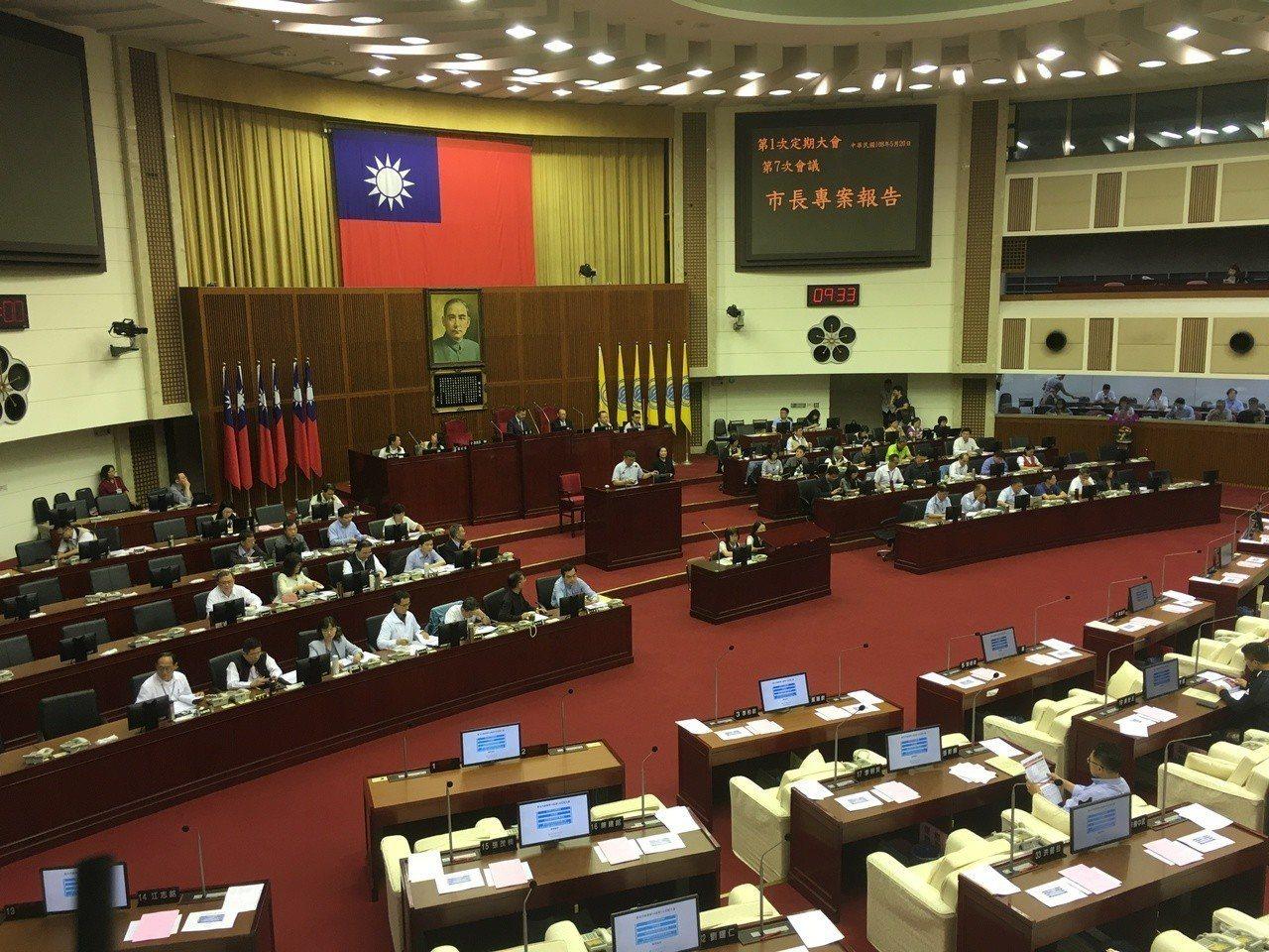 台北市長柯文哲今天上午赴市議會專案報告。記者張世杰/攝影