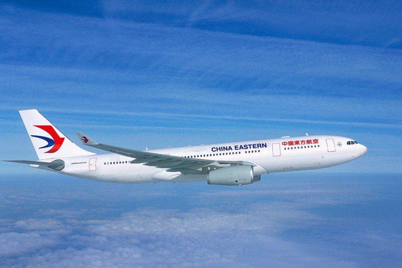 東方航空,非當事飛機。聯合報系檔案照片