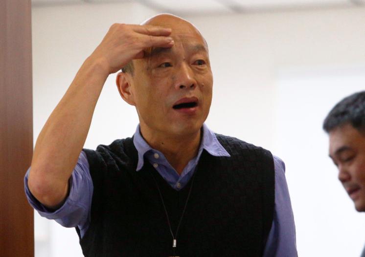 高雄市長韓國瑜。 聯合報系資料照/記者劉學聖攝影
