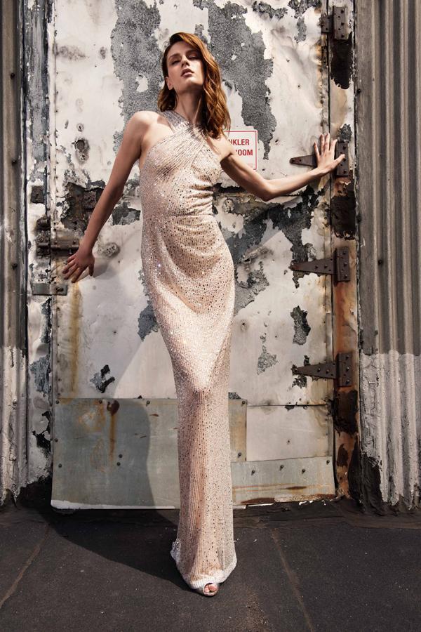 蘇菲雅婚紗今年引進紐約知名牌Naeem Khan。圖/Sophia Ritz提供