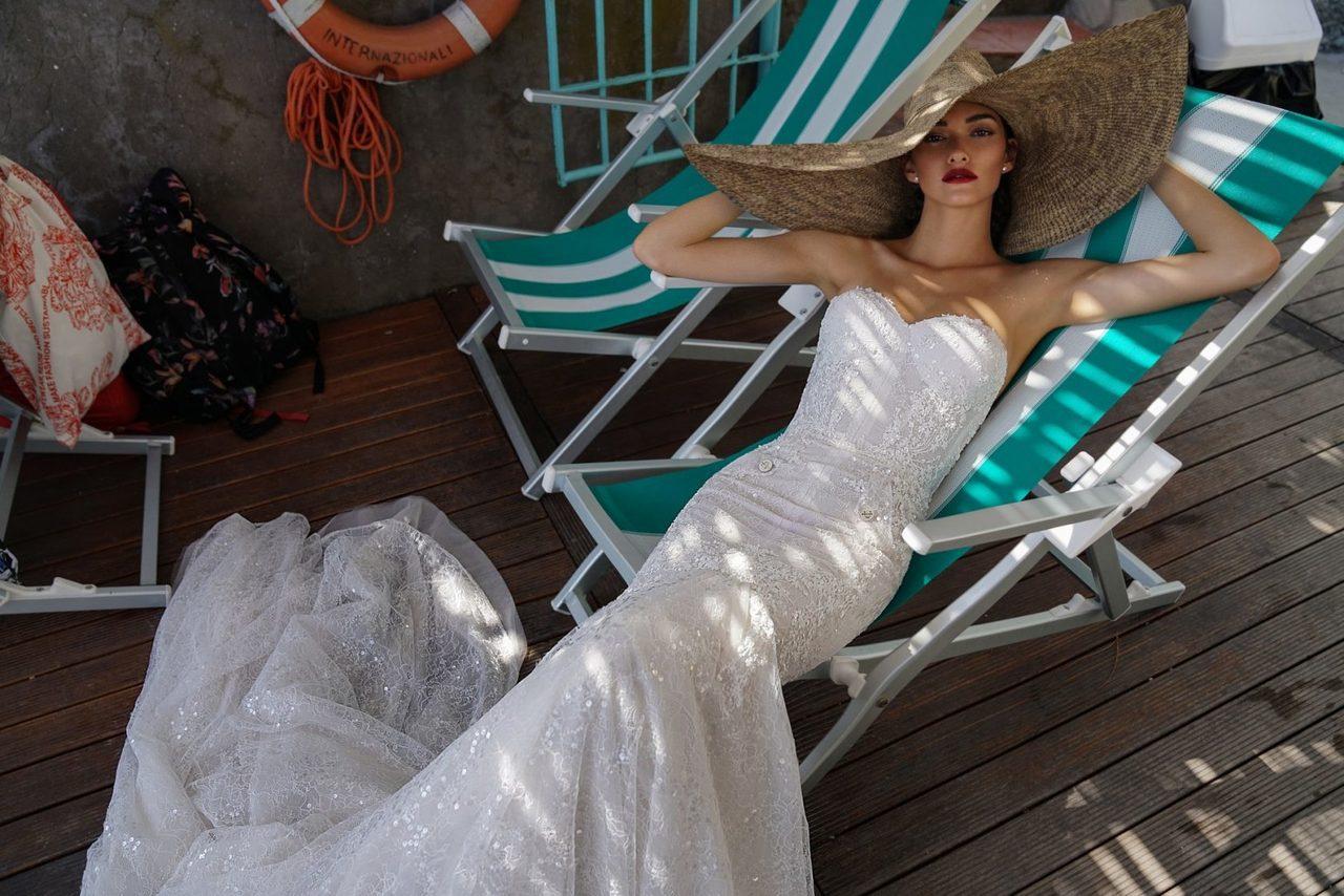 蘇菲雅婚紗今年引進近年很夯的以色列婚紗品牌Inbal Dror。圖/Sophia...