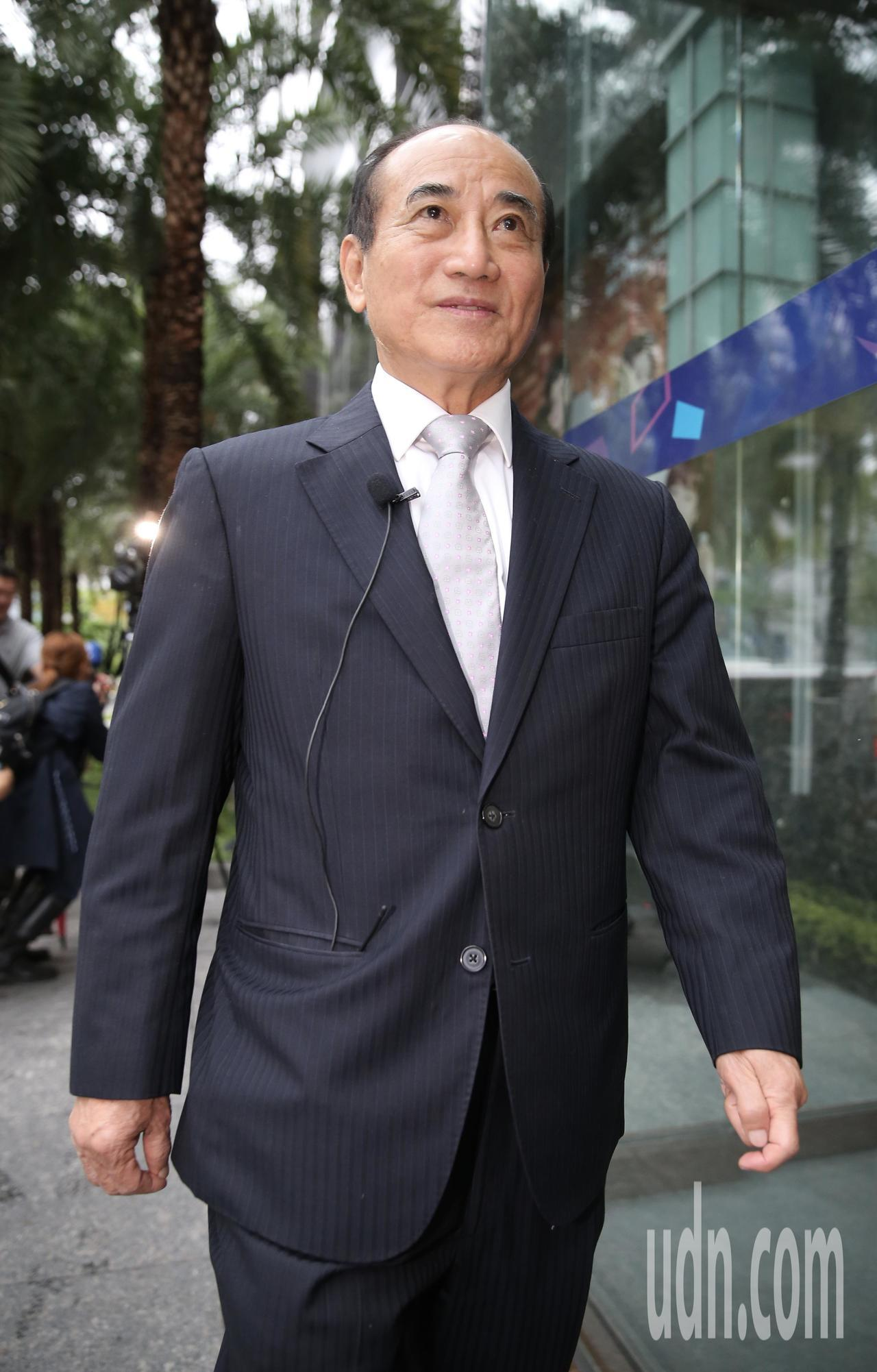 立法院前院長王金平(圖)下午接受TVBS新聞大白話直播專訪。記者許正宏/攝影