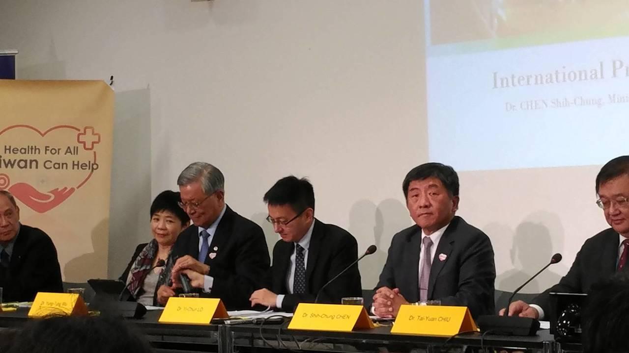 世界衛生大會(WHA)今登場,由於台灣今年第3度未獲邀請,世衛行動團於台北時間下...