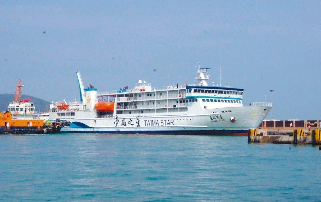 航行基隆、馬祖航線的臺馬之星客輪,今晚要駛進基隆港前發動機故障,一度在海上失去動...